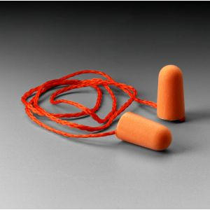 3M 1110  Corded Earplugs, Hearing Conservation Per Pair