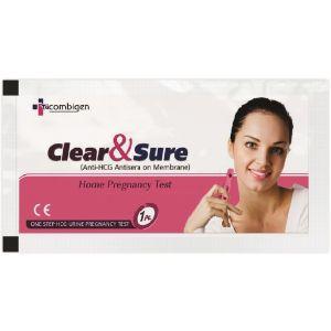 Recombigen HCG Clear & Sure Pregnancy Test (Pack of 50)