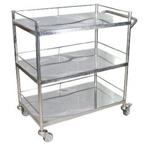 Instrument Trolley ( Three shelves )