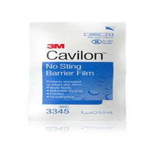 3M™ Cavilon™ No Sting Barrier Film 3.0mL wand 3345, Box of 25