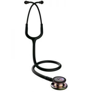 Littmann Stethoscope Classic III, Raspberry w/ Smoke Chest-Piece 5871
