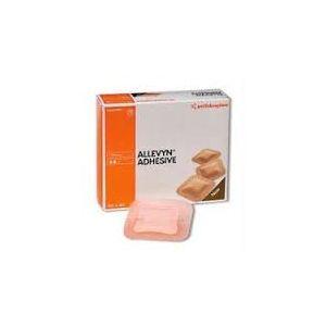 Smith & Nephew Allevyn Ag Adhesive Foam Dressing 7.5x 7.5cm, Box of 10