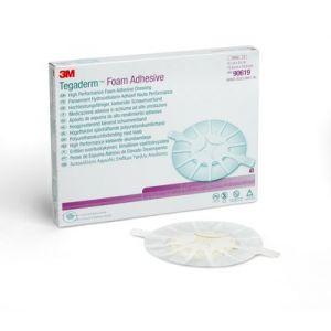 3M™ Tegaderm™ High Performance Foam Adhesive Dressing 90619, Small heel/elbow design, Box of 5