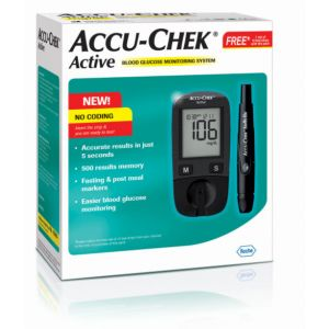 Accu-Chek Active Meter (10 strips free)