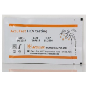 Accurex Accutest HCV (Whole Blood)(Pack of 30 Tests)