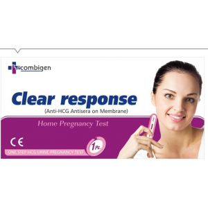 Recombigen HCG Card Clear Response Pregnancy Test (Pack of 40)