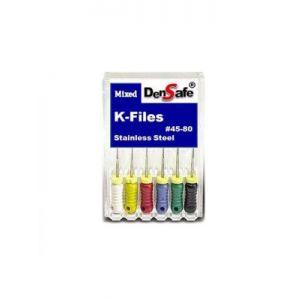Densafe K-files (25 mm)