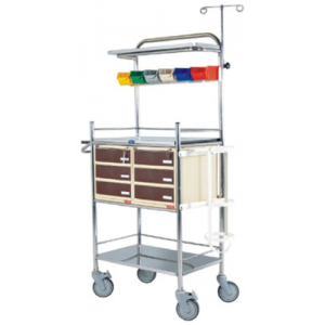 CLASSIC EMERGENCY CRASH CART TROLLEY