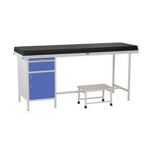 Classic Examination Table With Single Cabinet