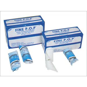 Infomed Fine POP Plaster 10cm, Box of 12