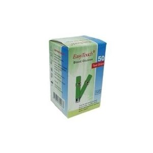 EasyTouch Blood Glucose Test Strips (Box of 50)