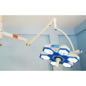 HexaWave LED OT Light - Ceiling mounted Single Dome 90000 Lux