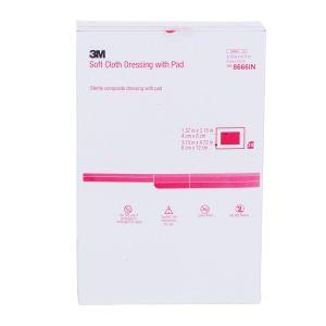 Soft Cloth Dressing 8666A Size 8cm X 12cm, Box of 25