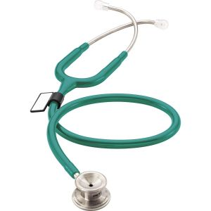 MDF MD One Stainless Steel Stethoscope - Aqua Green
