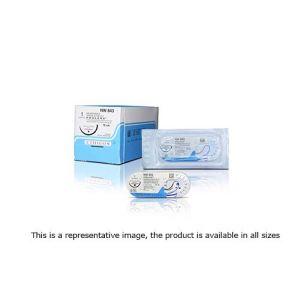 MPP2862H-3/8 Circle PS-2 PRIME MultiPass, 3-0, 19mm, PROLENE Blue Undyed Monofilament 75 cm