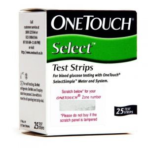 OneTouch Select ® Test Strips™(Box of 25)
