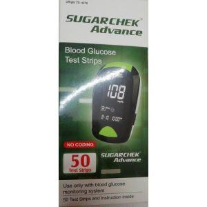Sugarchek Advance Glucometer 50 strips