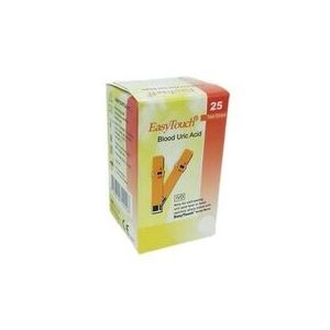 EasyTouch Uric Acid Test Strips (Box of 25)