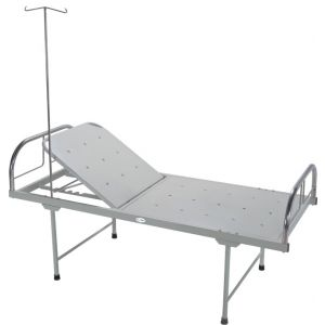 Premium Hospital Bed- With Manual Backrest - CW 3