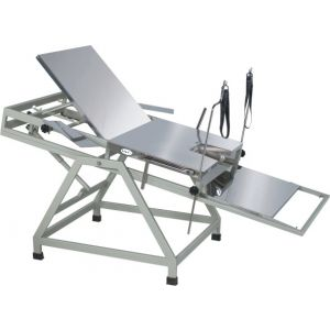 Premium Obstetric Labour Table  Telescopic Type With S/S Top -Cw 42