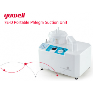 Yuwell Portable Phlegm Suction Unit, Model 7E-D