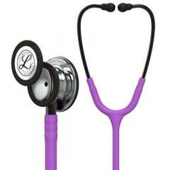 Littmann Stethoscope Classic III: Mirror Chestpiece, Lavender Tube, 27 inch, 5865