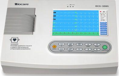 Biocare ECG-300G Digital Three Channel ECG (With Interpretation)