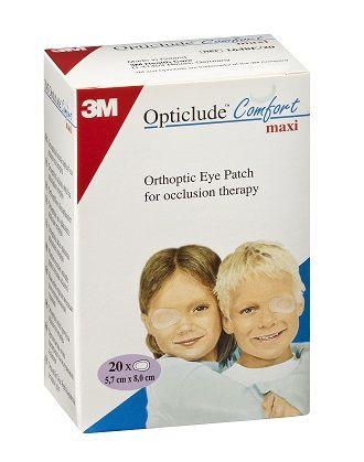 3M Opticlude Orthoptic Eye Patch 1539 Regular (5.7cm x 8cm) Box of 20