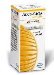 Accu-Chek Softclix Lancet (Box of 25)