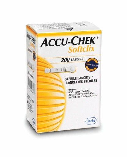 Accu-Chek Softclix Lancet (Box of 200)
