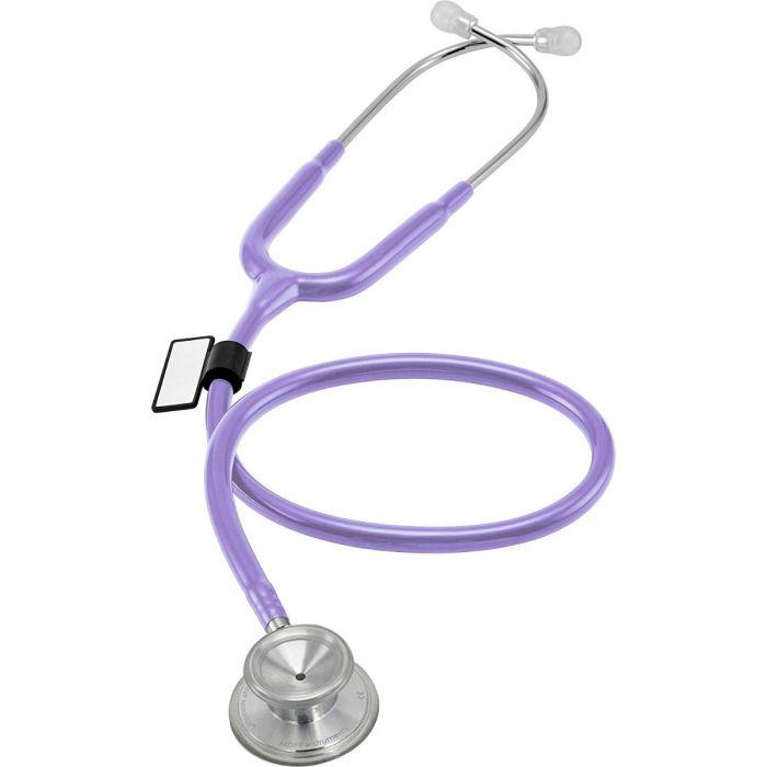 MDF Acoustica Lightweight Dual Head Stethoscope- Pastel Purple (MDF747XP07)