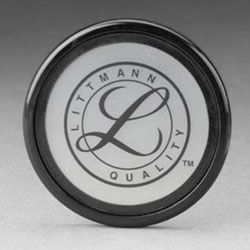 3M Littmann Tunable Diaphragm & Rim- Cardiology III/Classic Series (Small Side) Gray 36573