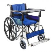 KosmoCare Dura Mag Wheelchair with Soft cushion & seat belt
