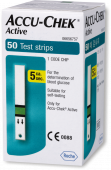 Accu-Chek Active Test Strips (Box of 50)