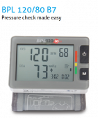 BPL 120/80 B7 Wrist type Blood Pressure Monitor