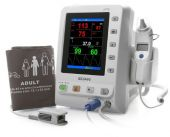 Edan M3A Vital Sign Monitor with SpO2, NIBP, Pulse Rate Temp