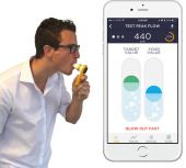 MIR Smart One Spirometer for Smartphone