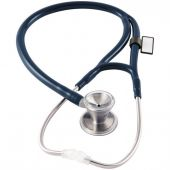MDF Classic Cardiology Dual Head Stainless Steel Stethoscope - Navy Blue (Abyss) (MDF79704)