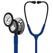 Littmann Stethoscope Classic III: Mirror Chestpiece, Navy Blue Tube, 27 inch, 5863