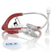 MDF Acoustica Lightweight Dual Head Stethoscope- Burgundy (MDF747XP17)