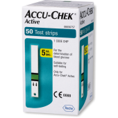 Accu-Chek Active Test Strips (Box of 50)