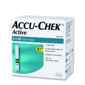 Accu-Chek Active Test Strips (Box of 100)