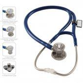 MDF ProCardial C3 Cardiology Stainless Steel Dual Head Stethoscope- Royal Blue (Maliblu) (MDF797CC10)