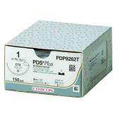 PDP304H-1/2 Circle Taper Point RB-1, 4-0, 17 mm, PDS PLUS Voilet Monofilament 70 cm