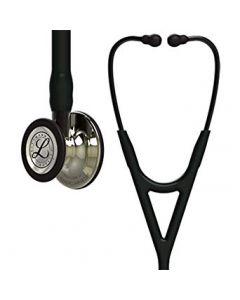 Littmann Stethoscope Cardiology IV: Champagne-Finish Chest-Piece, Black Tube, 27 Inch, 6179