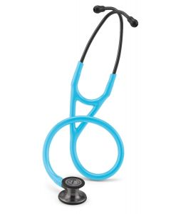 Littmann Cardiology IV: Smoke Finish Chest-Piece with Turquoise Tubing 6171