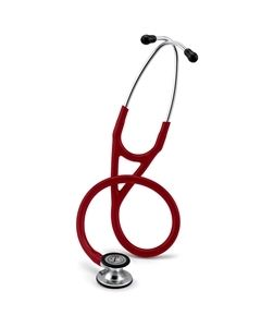 Littmann Stethoscope Cardiology IV: Mirror-Finish Chest-Piece  Burgundy Tubing, 27 Inch, 6170