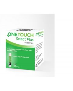 OneTouch Select Plus Test Strips (10's)