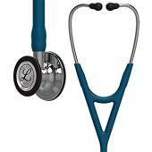 Littmann Stethoscope Cardiology IV: Mirror-Finish Chest-Piece, Caribbean Blue Tube, 27 Inch, 6169