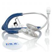 MDF Acoustica Lightweight Dual Head Stethoscope- Navy Blue (MDF747XP04)